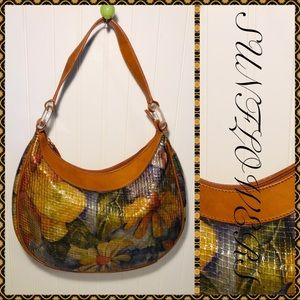 Sondra Roberts Sunflower Vegan Handbag
